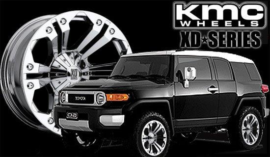 FJクルーザー KMC XDシリーズ モンスター