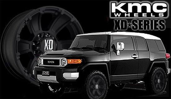 FJクルーザー KMC XDシリーズ レボルバー